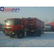 тягач ман man 33.440 6x4 сцепка для перевозки угля cамосвальный полуприцеп Schmitz Cargobull 38 куб фото