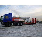 трал полуприцеп-тяжеловоз Хартунг, грузоподъемностью 39 тонн, модель 9433.КР1-0000016 в Красноярске фото