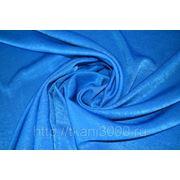 Атлас бархатный голубой фото