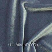 Бархат-стрейч серый фото