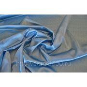 Креп-сатин нежно - голубой фото
