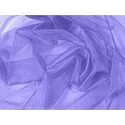 Органза серо-голубая фото