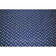 Гипюр темно - синий фото