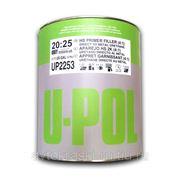 U-POL S2025W/3T Грунт наполнитель 4:1 3л белый + отвердитель фото