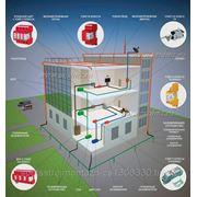 Монтаж системы молниезащиты и защитного заземления фото