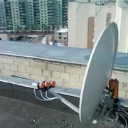 Установка спутниковых антен фото