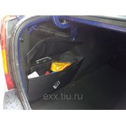 Рено Логан: сумка карман в багажнки фото
