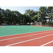 Резиновые покрытия для спортивных площадок и закрытых спортивных сооружений фото