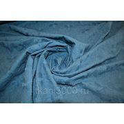 Хлопок фиолетово - синий фото
