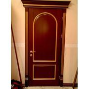 Двери из древесноволокнистых плит фото