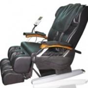 Микрокомпьютерное массажное кресло с воздушными подушками, роликами и вибрацией 988-D фото