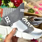 """Женские ботинки """"Dsquare*d"""" из нат. замши в расцветках. ВЕ-18-0918 фото"""