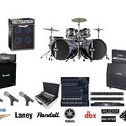 Звуковое оборудование для сцены музыкальные инструменты, Backline фото