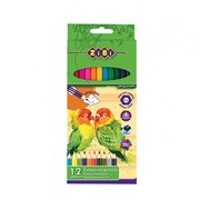 Карандаши цветные Zibi 12 цветов SOFT (ZB.2410) фото