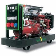 Дизельная электростанция модель GP 280A/I дизель-генератор на базе двигателя IVECO, 3-х фазная, с водяным охлаждением, мощностью 280 кВа, для использования в качестве постоянно действующих автономных или резервных источников электроэнергии, Green Power фото