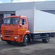 Фургон каркасный изотермический КАМАЗ 43253, 4х2 фото