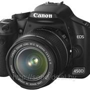 Фотокамера зеркальная Canon EOS 450D фото