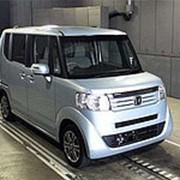 Микровэн HONDA N BOX PLUS кузов JF1 класса минивэн модификация G L Package гв 2013 пробег 151 т.км синий фото
