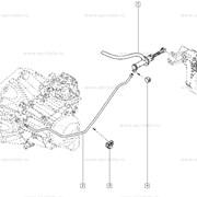 Главный цилиндр сцепления Renault Kangoo (2008-) - Luk 511030410 (OE 8200492742) фото