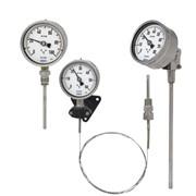 Манометрический термометр фото