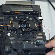 Сварка оптоволокна (оптических кабелей, ВОЛС) фото