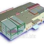 Ангары, склады из легких металлоконструкций фото