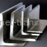 Уголок стальной по ГОСТ 8509-93 ГОСТ 8510-93 горячекатаный металлический равносторонний и не равносторонний из стали оцинкованный и черный фото