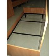 Кровать КО-4 усиленная с матрасом фото
