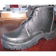 Ботинки кожаные рабочие фото