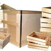 Деревянная тара, ящики, контейнера фото