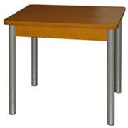 Стол обеденный на металлокаркасе фото
