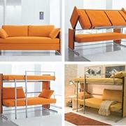 Диван-двухярусная кровать фото