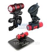 Автомобильный видеорегистратор PRESTIGIO RoadRunner 710X Red фото