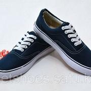 Кеды Vans Canvas Era синие (35-45), кроссовки, сникеры, шузы фото