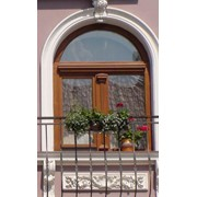 Элитные деревянные евроокна фото