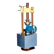 Проводим испытания трубопроводной арматуры на специализированном стенде для гидравлических и пневматических испытаний. фото