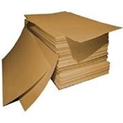 Коричневый картон фото