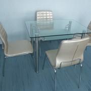 Стол из стекла DT1-051 фото