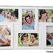 Фоторамка семейная на 6 фотографий фото