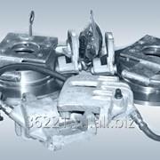 Кронштейн крепления тормозной камеры переднеголевый РЗАА модель 32053-3501121 фото