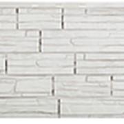 Фасадные панели T-Сайдинг, коллекция «Альпийская Скала» белый, 1090х455 фото