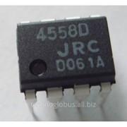 Микросхема JRC4558 DIP-8 790 фото