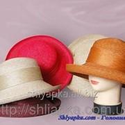 Женская шляпа из натуральной соломы 29/74-01 фото
