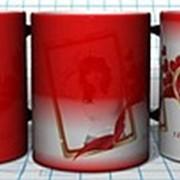 Хамелеон кружки, печать на сувенирной продукции фото
