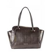 Коричневая женская сумка-трапеция Cromia фото