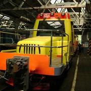Панели из стеклопластика для мотовозов метрополитена фото