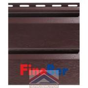 Фасадная панель Fineber Standart Темный Дуб 0,205 х 3,66 м фото