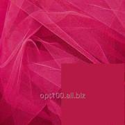 Фатин мягкий, цвет малиновый - 3 метра ширина фото
