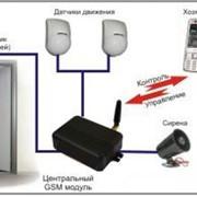 Установка GSM-сигнализации фото