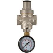 Редуктор давления с манометром 1/2 дюйм 0,5-5,5 бар Valtec VT.088 0455, арт.18552 фото